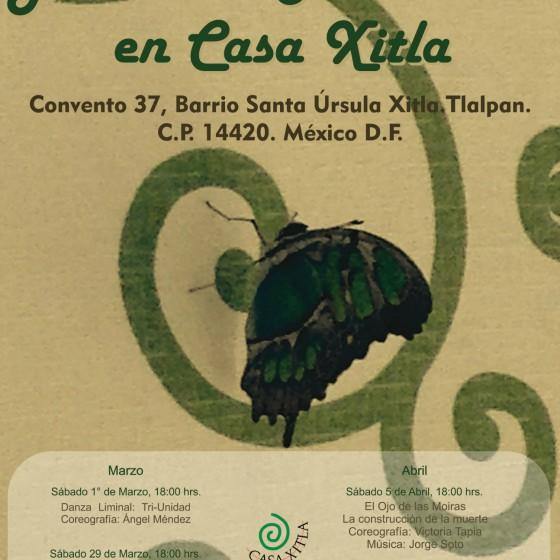 cartel 2do ciclo de danza xitla