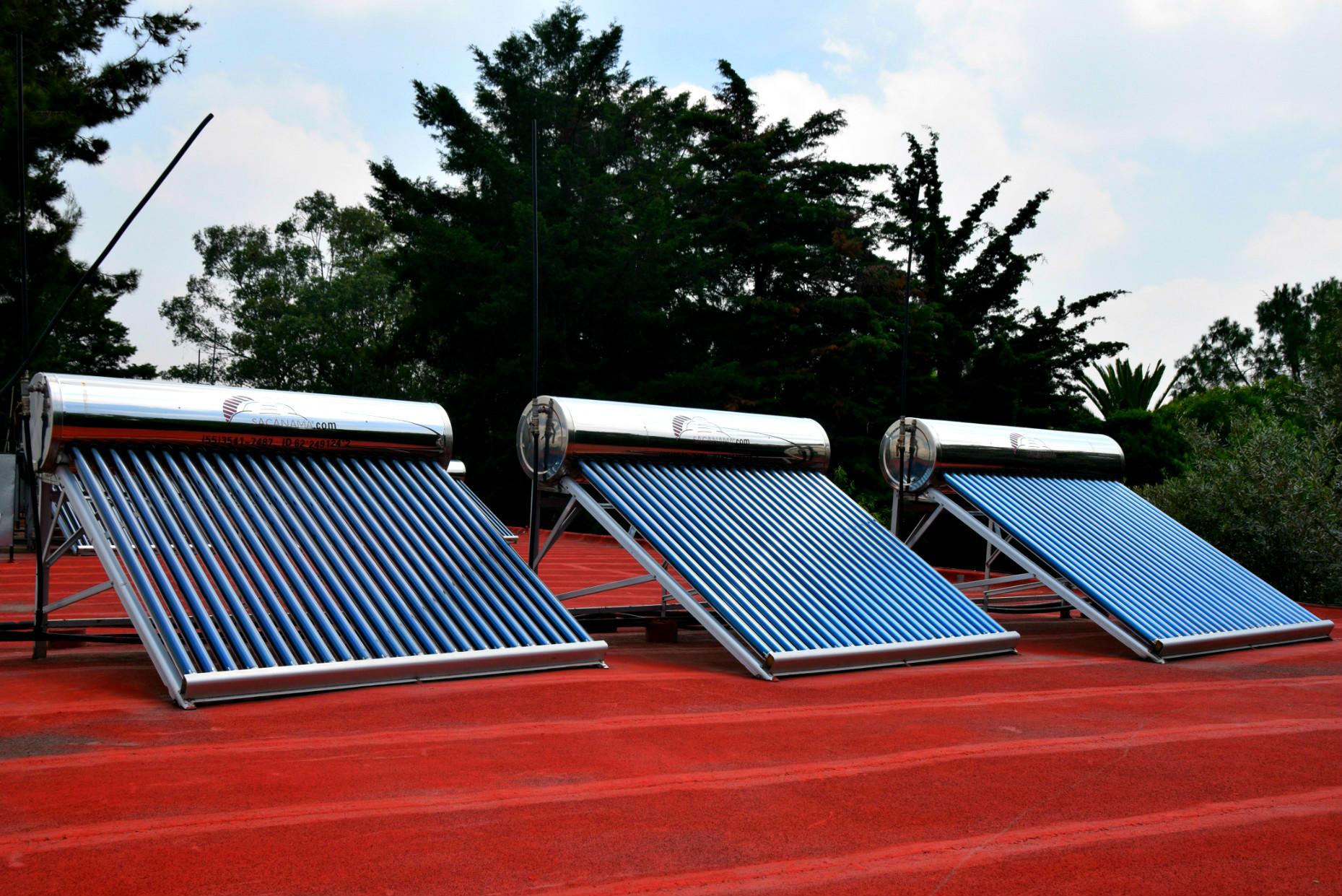 Calentadores Solares De Agua Casa Xitla
