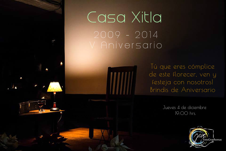 Invitacion V Aniv CX