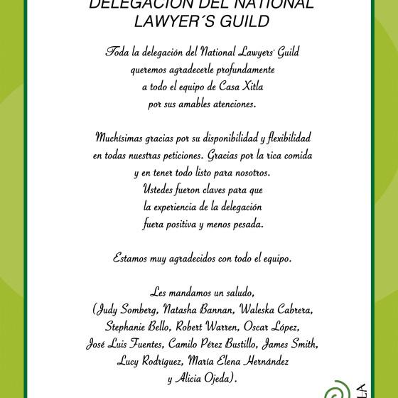 Agradecimiento Lawyers