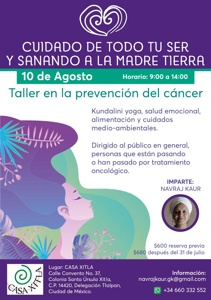 taller yoga contra cancer